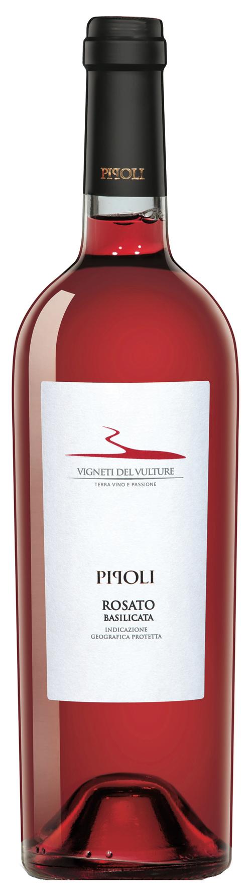 2015 Pipoli Rosato Basilicata IGT VIGNETI DEL VULTURE