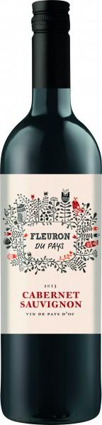 Les Vignerons de la Vicomte Fleuron Cabernet Sauvignon I.G.P. Pays d'Oc Liter