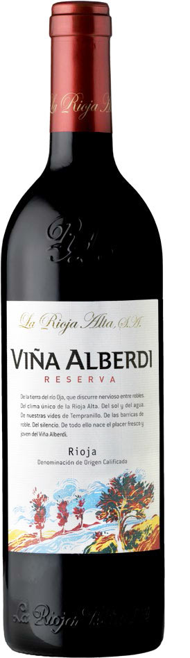 La Rioja Alta Vina Alberdi Reserva , Rioja D.O.C. 2010