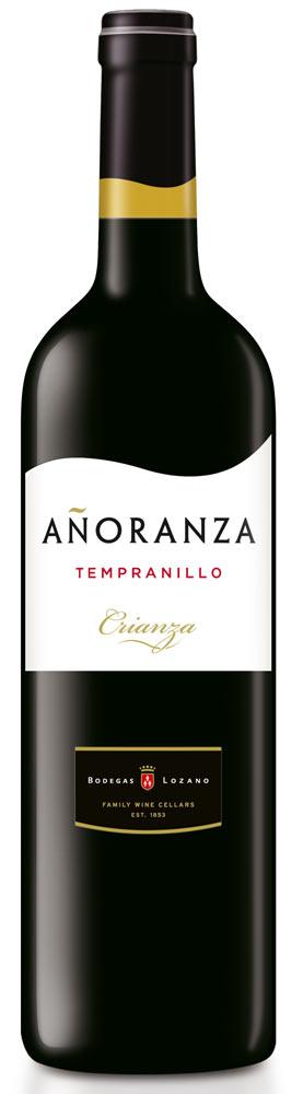 Anoranza Tempranillo Crianza La Mancha D.O. 2013 Bodegas Lozano