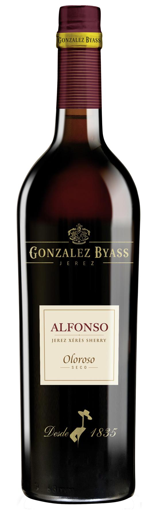 Alfonso Oloroso seco GONZALEZ BYASS