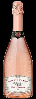 Doppio Passo Italian Rosé Spumante Dry
