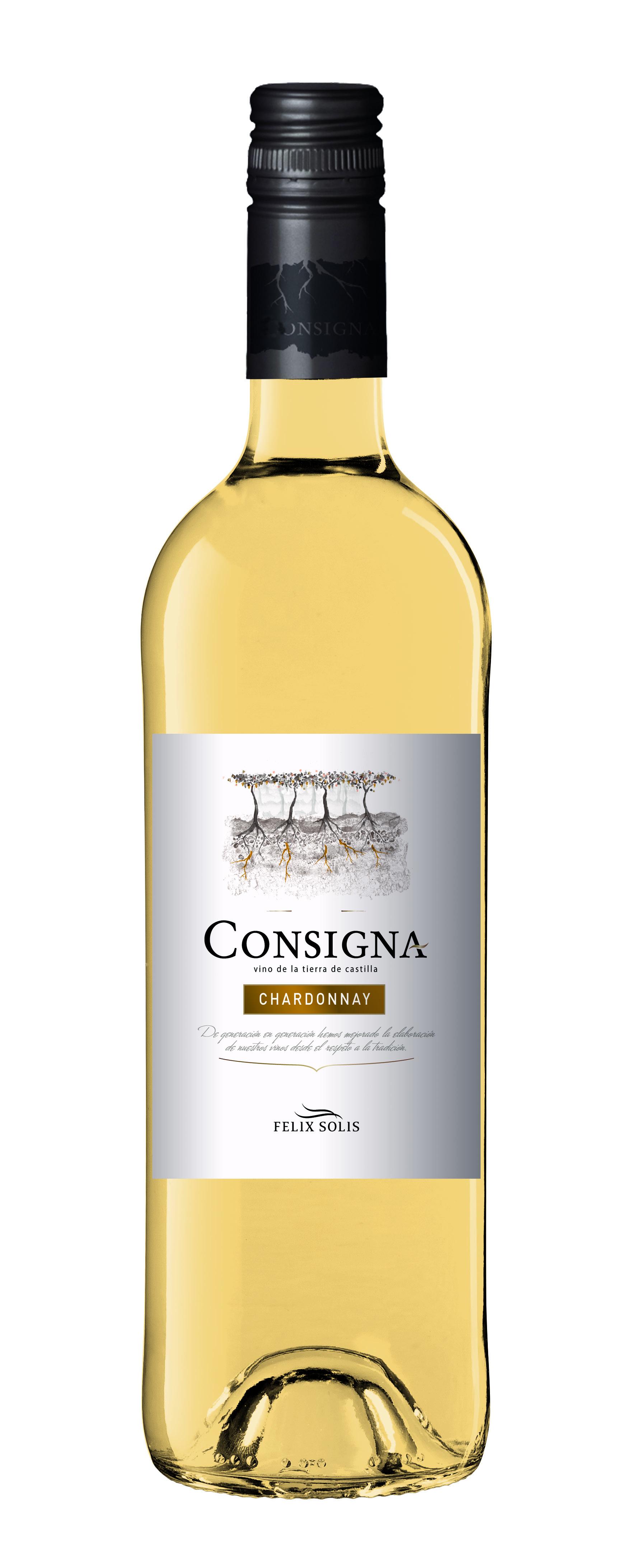 2016 Consigna Chardonnay Vinos de la Tierra de Castilla Felix Solis