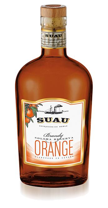 Brandy Suau Orange Mallorca , 37 Vol.% 0,7 l Flasche