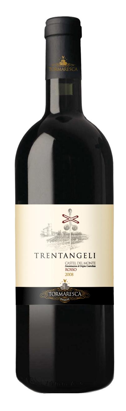 2014 Trentangeli Castel del Monte Rosso DOC Tormaresca