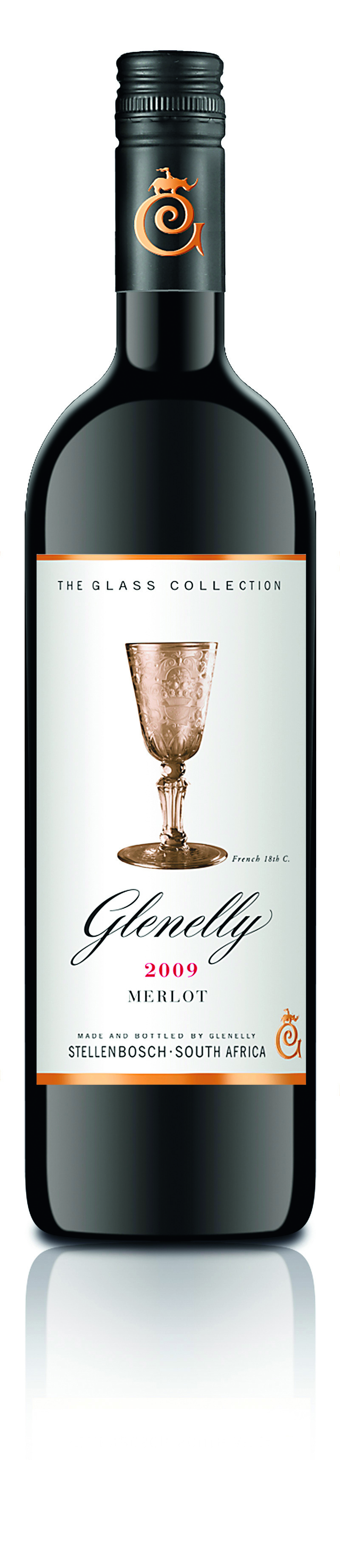 2014 Merlot Glass Collection Glenelly Estate Stellenbosch