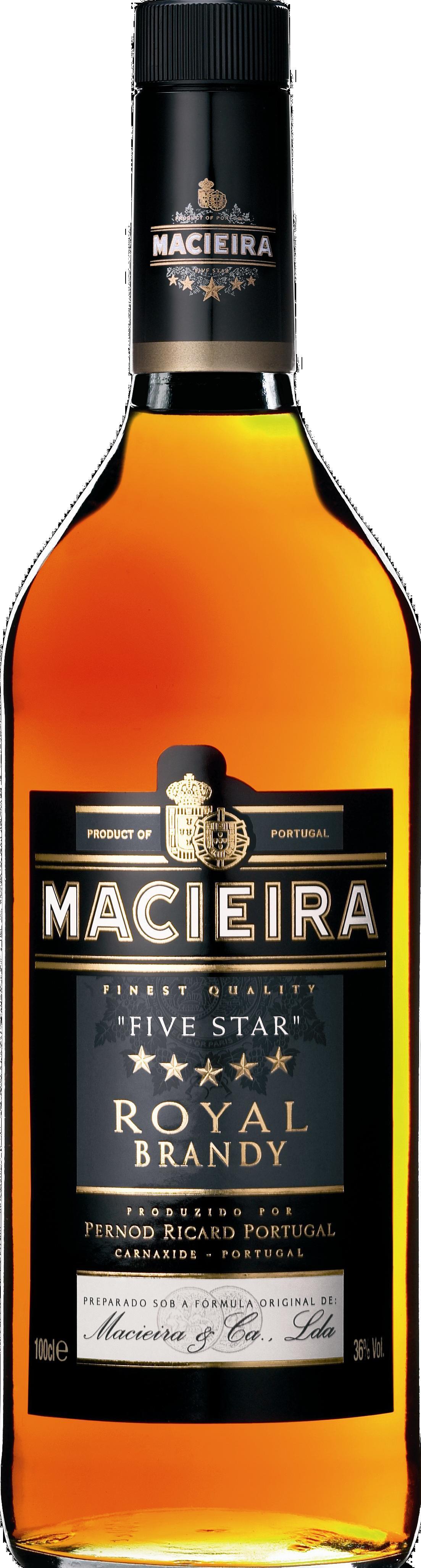 Brandy Macieira Literflasche 36 % Vol. aus Portugal