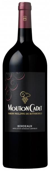 Mouton Cadet Bordeaux Rouge Baron Philippe de Rothschild Magnum