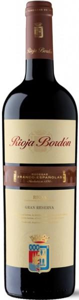 Franco-Espanolas Rioja Bordón Gran Reserva
